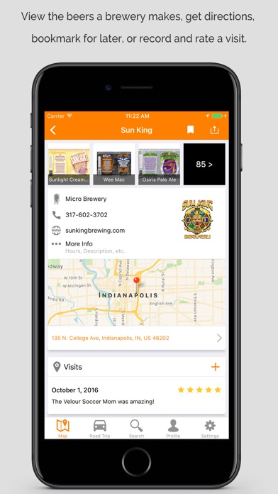Brewerymap review screenshots