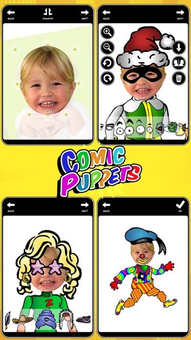 Comic Puppets review screenshots