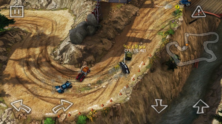 Reckless Racing HD screenshot-3