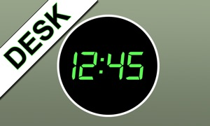 iDigital Desk Clock TV Edition