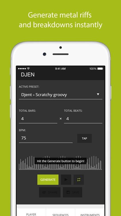 DJEN - Metal Breakdown Generator