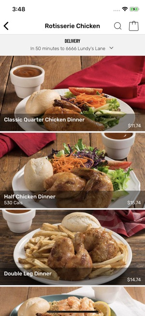 swiss chalet delivery menu pdf
