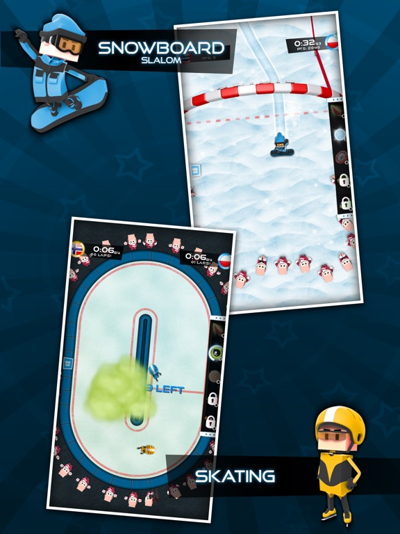 Screenshot #4 for Flick Champions Winter Sports