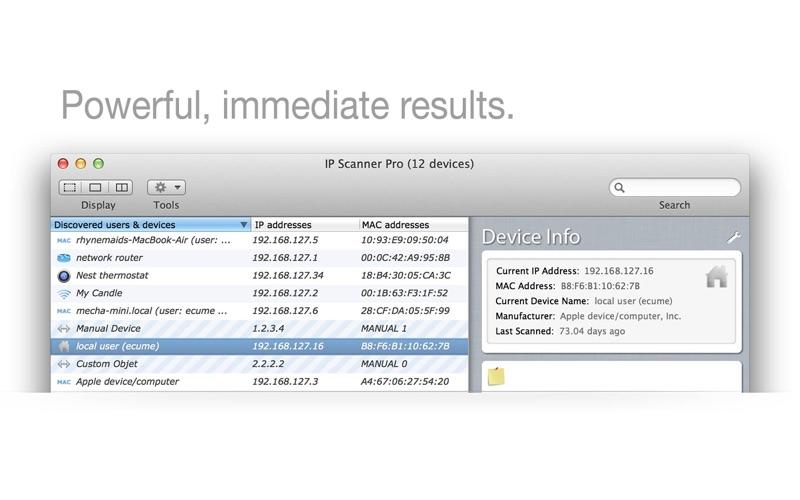 IP Scanner IP扫描器 for Mac