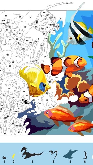 大人の塗り絵 ジグソーパズルスクリーンショット1