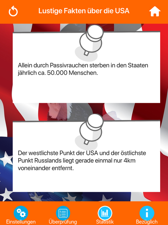 USA Wissenstest Quiz screenshot 8