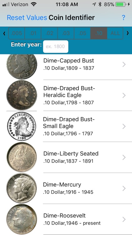 Coin ID/Mint Mark Locator