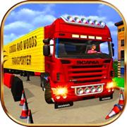 卡车模拟驾驶停车考试