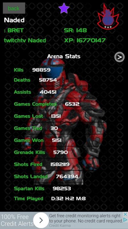 Data bot for Halo 5 screenshot-0