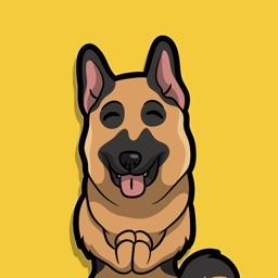 German shepherd Dog emojis
