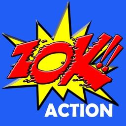 ZOK - Comic Book Stickers