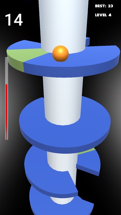 Helix Jump ball screenshot 2