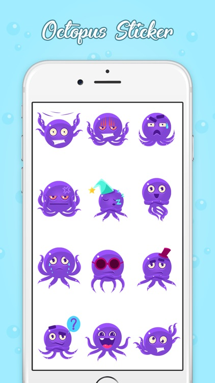 Adorable Octopus Stickers