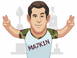 NHL superstar, Evgeni Malkin, presents the official Malkin Emoji app