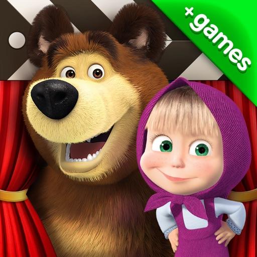 Маша и Медведь (игра + сказки)
