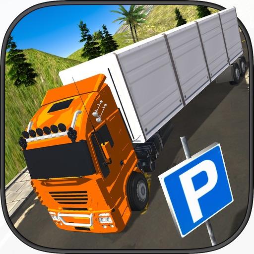 Тяжелый транспорта грузовик 3D