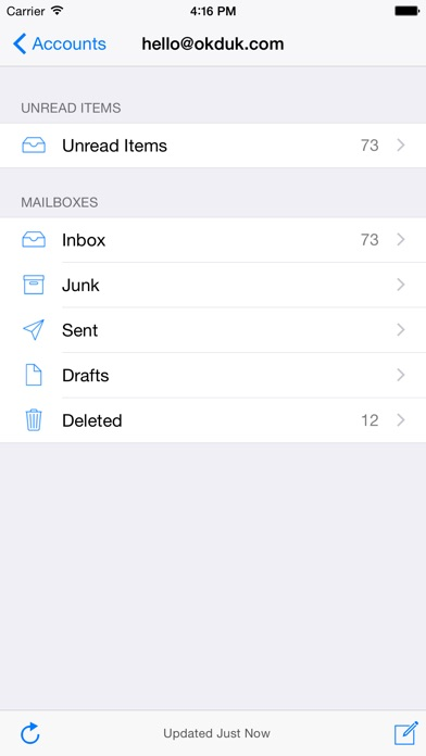 Screenshot for Mail Access for Outlook in Austria App Store