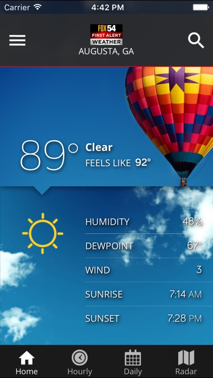 WFXG First Alert Weather screenshot-3