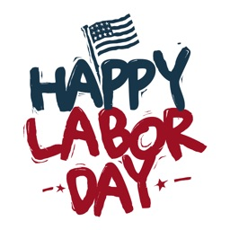 Happy Labor Day - Stickers for Message