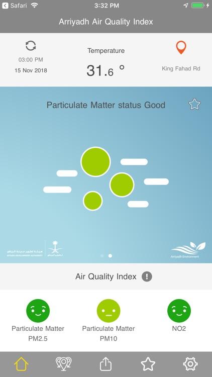 جودة هواء الرياض screenshot-6