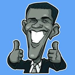USA Presidents STiK Stickers