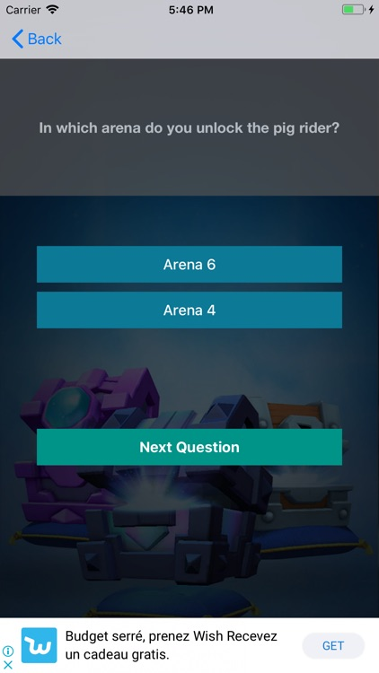 Quiz & Chest For Clash Royale