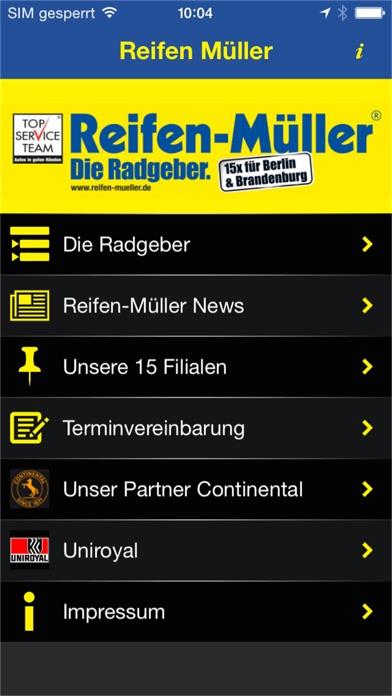 Reifen MüllerScreenshot von 1
