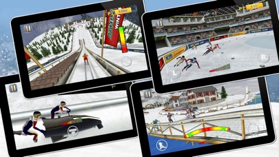 Athletics 2: Winter Sports Pro screenshot 3