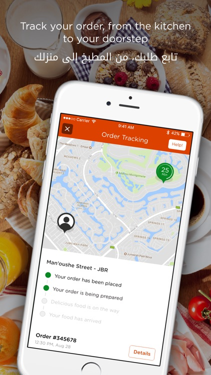 RoundMenu Online Food Delivery screenshot-3