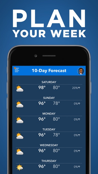 Frank's Weather Forecast for Windows