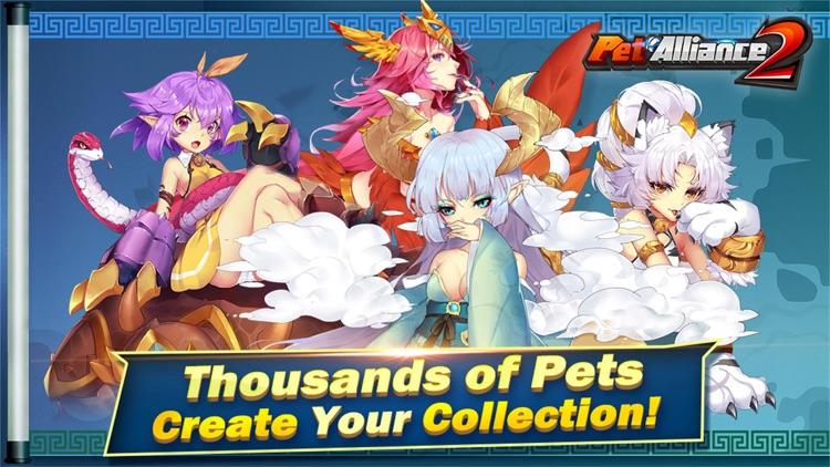 Pet Alliance 2 - Pets Battle screenshot-0