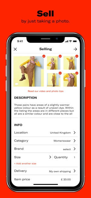 db01e7a6790ff  Depop on the App Store