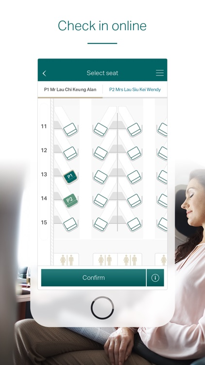 Cathay Pacific screenshot-3