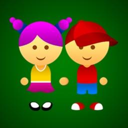 Cute Girl & Boy