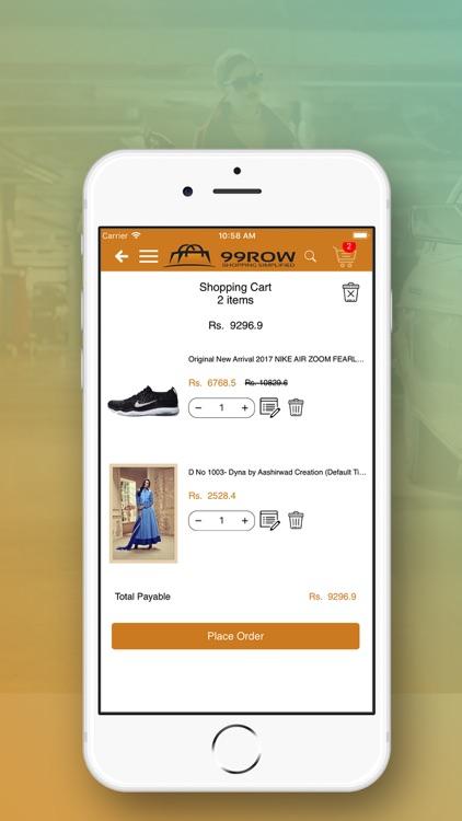 99ROW : Online Shopping App screenshot-4