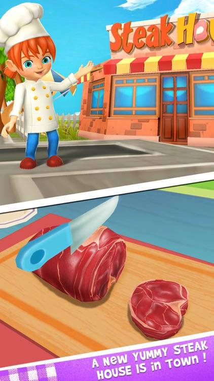 Steak Maker - Food Street Chef screenshot-3