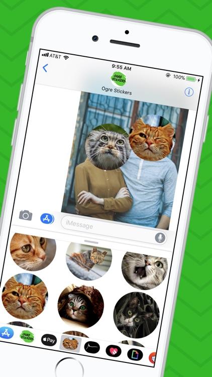 Cat Sticker App