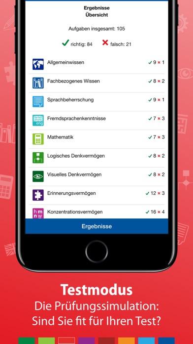Screenshot for Einstellungstest Feuerwehr in Germany App Store