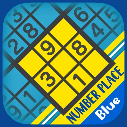 Basic NumberPlace Blue