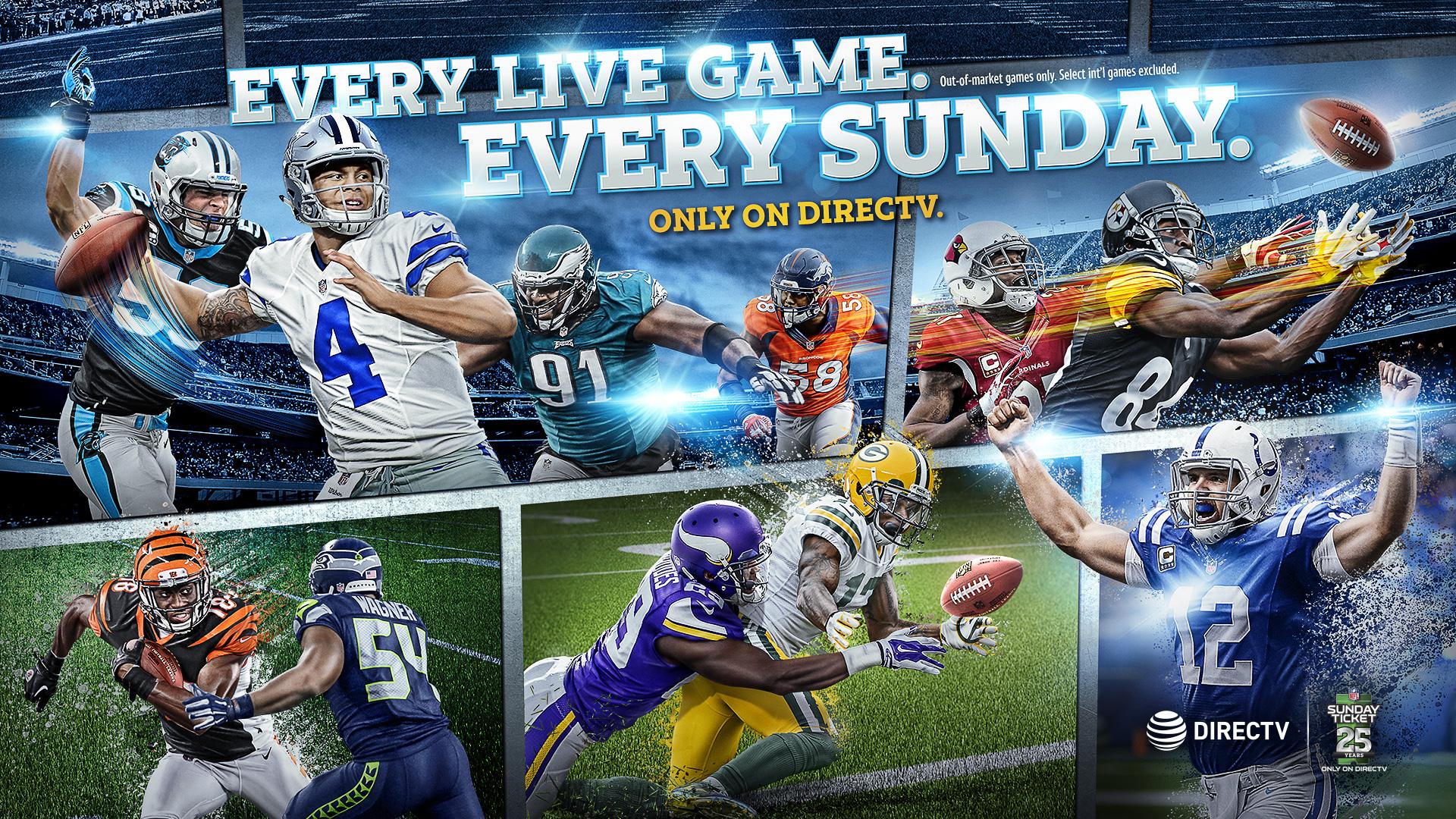 NFL SUNDAY TICKET for Apple TV screenshot 4
