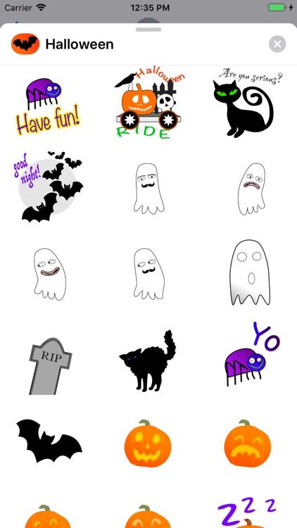 Stickerz for Halloween