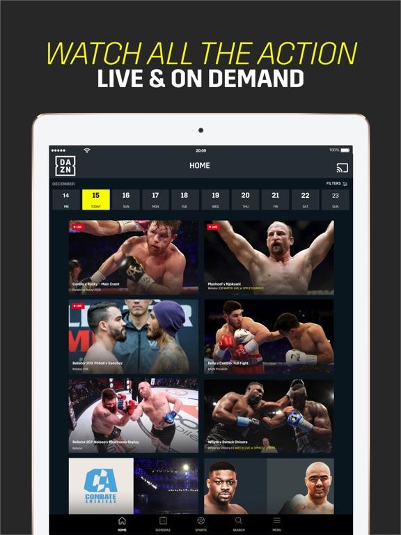 DAZN: Live Sports Streaming screenshot 12