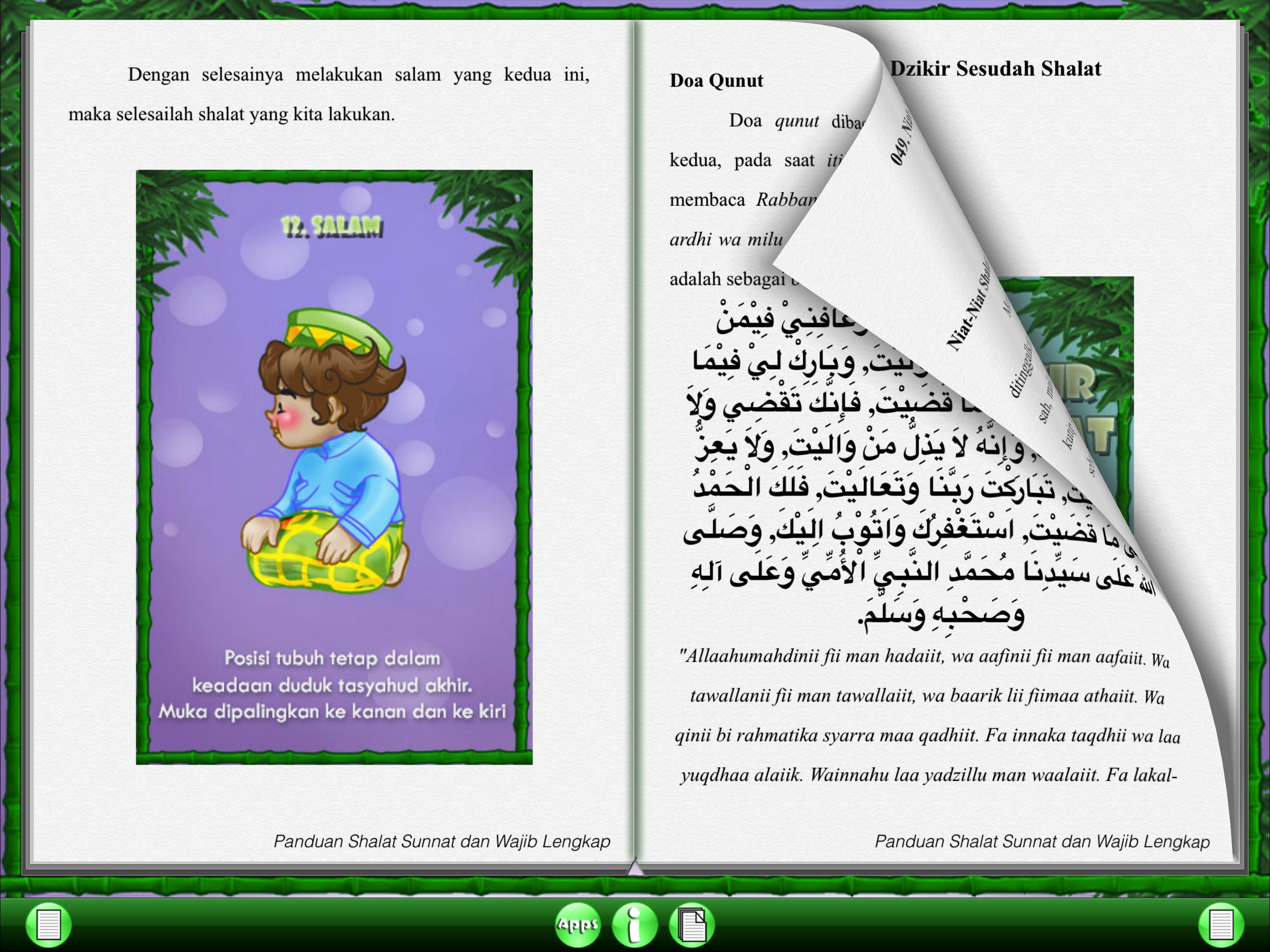 Panduan Shalat Sunnat & Wajib Screenshot