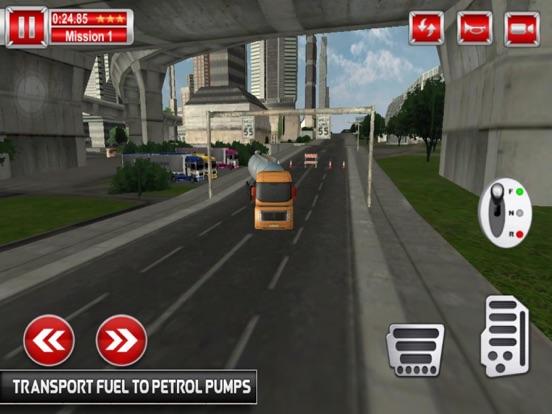Tanks Oil Driving Mission 3D screenshot 4