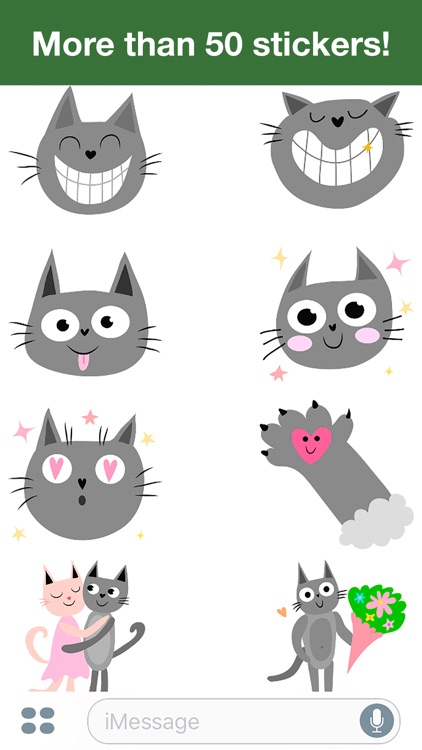 Cats - Cute stickers