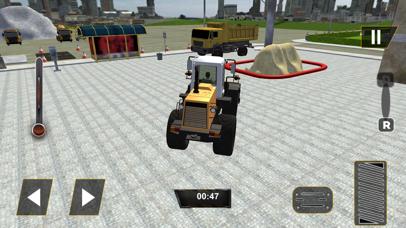 Real City Road River Bridge Construction Game screenshot one