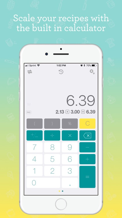 CookConvert Pro Calculator screenshot-3