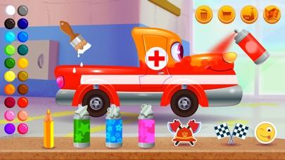 Funny Racing Cars -おもしろレーシングカーのスクリーンショット3