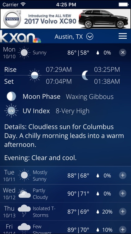 KXAN Weather screenshot-4