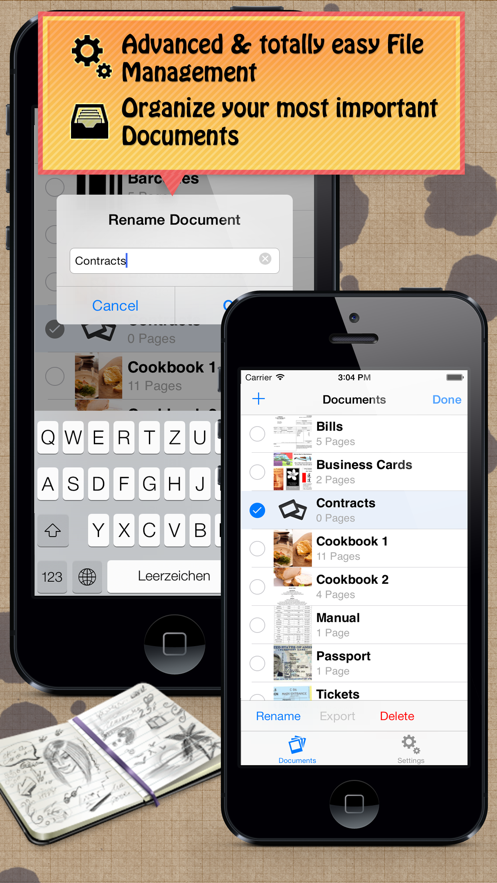 Scanner - Document Wallet App 截图
